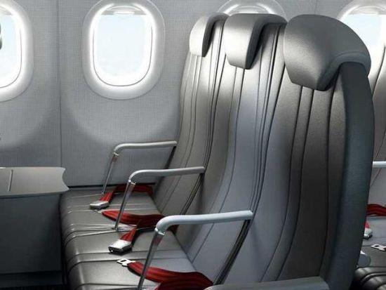 4.14:4公斤重钛飞机座椅批准商用 轻型座椅受航企青睐